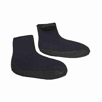 Mover yTM mudanza 2 piezas negro antideslizante suela botas de buceo Buceador calcetines de neopreno: Amazon.es: Deportes y aire libre