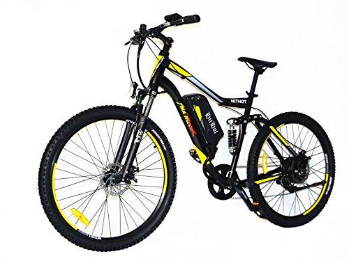 Buy Cheap Addmotor HITHOT Electric Bicycles Mountain 27.5 Inch Tire Full Suspension Electric Bikes 4...