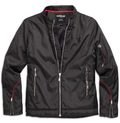 buy popular 91148 3f1fd Surplus - Xylontum Biker Jacket Wind- Regen Jacke: Amazon.co ...