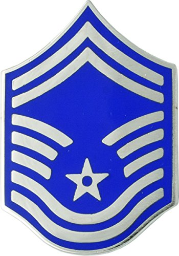 Air Force Enlisted Metal Rank - SMSGT- 1 Pair