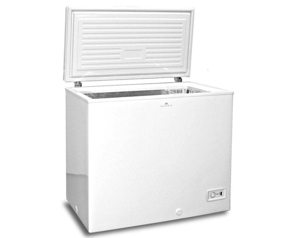 /(アレジア/) ストッカー /(206L/) チェストタイプ ALLEGiA 【省エネタイプ】 AR-BD206-NW 上開き 冷凍庫