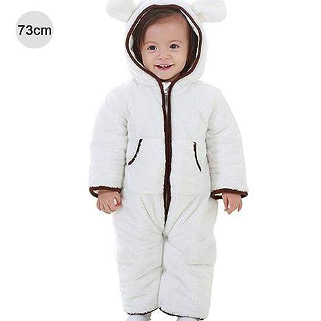 per Saco de Dormir Bebés Infantiles Invierno Romperes Bebés Recién Nacidos Pijamas Bebés de Una Pieza