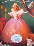 ANGEL LIGHTS BARBIE Doll TREE TOPPER - LIGHT UP ANGEL for Your TREE Top! Limited Edition (1993)