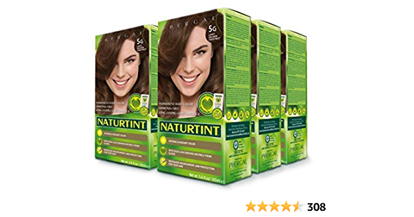 Naturtint Permanent Hair Color - 5G Light Golden Chestnut, 5.28 fl oz by Naturtint