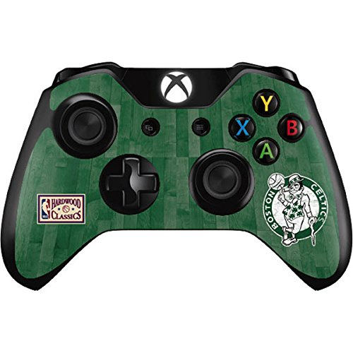 NBA Boston Celtics Xbox One Controller Skin - Boston Celtics Hardwood Classics Vinyl Decal Skin For Your Xbox One Controller by Skinit