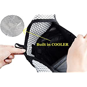 Insulated Hydration Backpack with 2L BPA FREE Bladder - Keeps Liquid Cool Up to 5 Hours - Great for Outdoor Sports of Running Hiking Camping Cycling Skiing (Insulated Lemon)