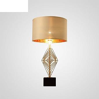 Retro Oro Lámparas de mesa,Clásica Elegante Lámpara escritorio ...