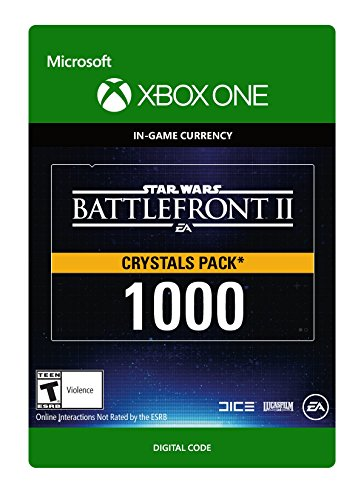 Star Wars Battlefront II 1000 Crystals - Xbox One [Digital Code]