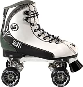 KRF Retro Formula Maxi - Patines quad, color blanco, Talla 45