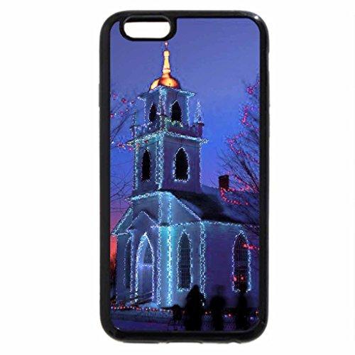 iPhone 6S / iPhone 6 Case (Black) Little blue church