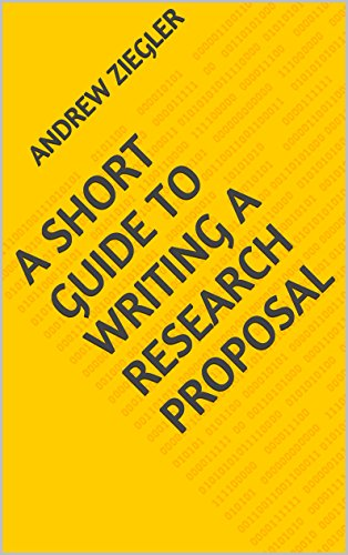 Amazon a short guide to writing a research proposal ebook a short guide to writing a research proposal by ziegler andrew fandeluxe