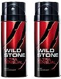 Wild Stone Ultra Sensual Deodorant For Men 150 ML (Pack of 2)