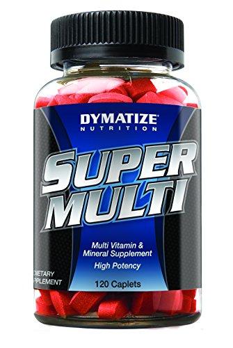 Dymatize Super Multi Vitamins, 120 Caplets
