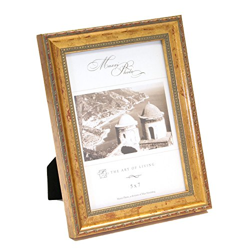 maxxi-designs-photo-frame-with-easel-back-8-x-10-gold-leaf-classics