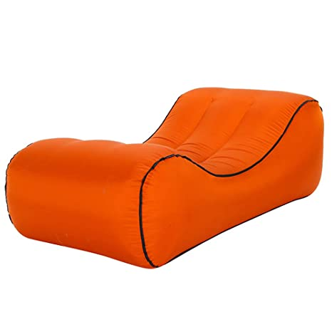 DDSGG Sofá Inflable Al Aire Librel,Tumbona Inflable Sofa ...