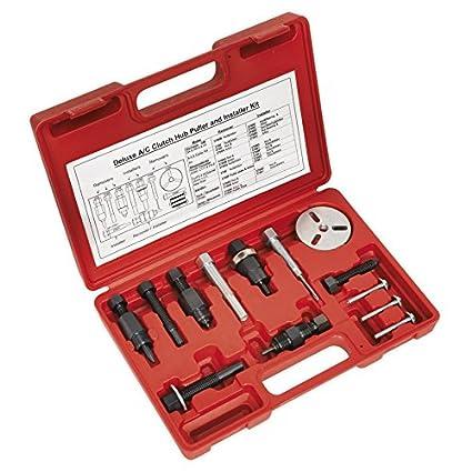 Sealey VS604 aire acondicionado cubo de embrague extractor/piezas