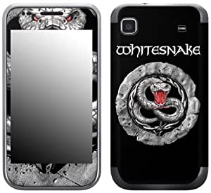 Zing Revolution MS-WSNK30275 Whitesnake - Snake Stone Cell Phone Cover Skin for Samsung Galaxy S 4G (SGH-T959V)