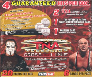 2008 Tristar TNA Cross the Line Wrestling Hobby Box -