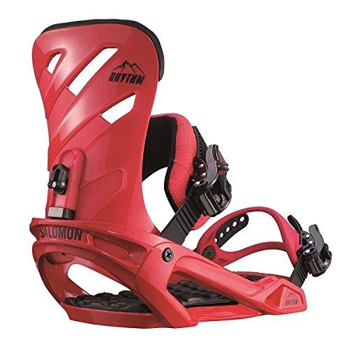 Salomon Snowboards Rhythm Snowboard Binding Red, L