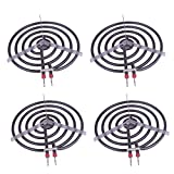 6 electric stove burner - Siwdoy (Pack of 4) MP22YA Electric Range Burner Element Unit Set - 2 pcs MP15YA 6