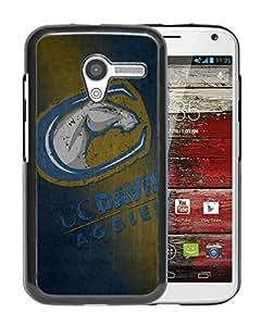 NCAA UC Davis Aggies 3 Black Customize Motorola Moto X Phone Cover Case