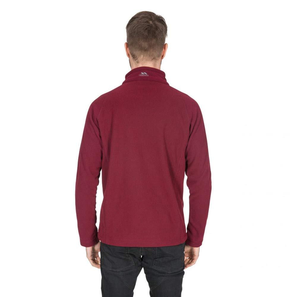 Trespass Mens Structual Half Zip Warm Soft Fleece Top