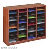 Safco Products E-Z Stor Wood Literature