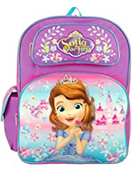 Disney Junior Sofia the First Lovely Castle 16 Large Backpack