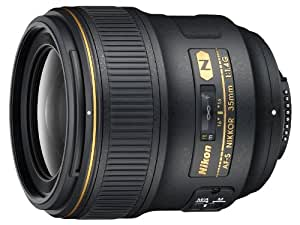 Nikon AF-S 35mm F1.4 G - Objetivo con montura para Nikon (distancia focal fija 35mm, apertura f/1.4)