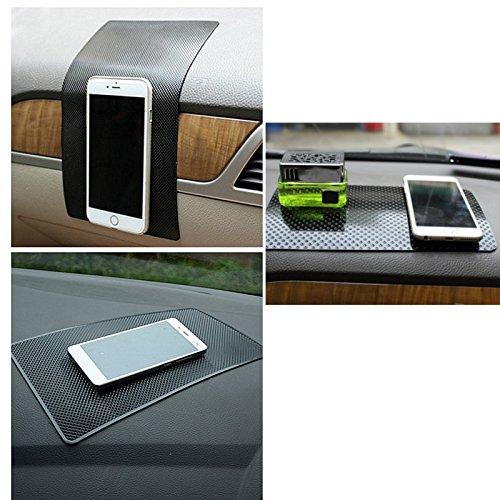 Gadgets - Car Magic Anti-Slip Dashboard Pad Non-Slip Mat Gps Phone Hold - Negative Slide Matt Telephone Sneak Tangle Call Gaffe Flat Earpiece Miscue Matte Earphone - 1PCs ()