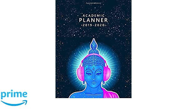 Amazon.com: Academic Planner 2019-2020: Funky Hippie Buddha ...