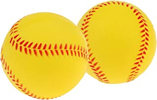 IPOTCH 2pcs 7cm Sécurité Balles Rebondissantes Balle de Baseball Balle Molle Balle d'exercice