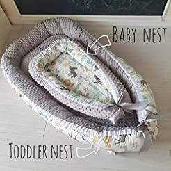 Baby nest Baby cocoon Baby nest bed with...