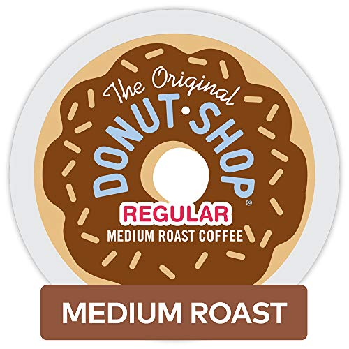 The Original Donut Shop Keurig Single-Serve K-Cup Pods, Medium Roast Coffee, 32 Count (Green Coffee Beans Assortment)