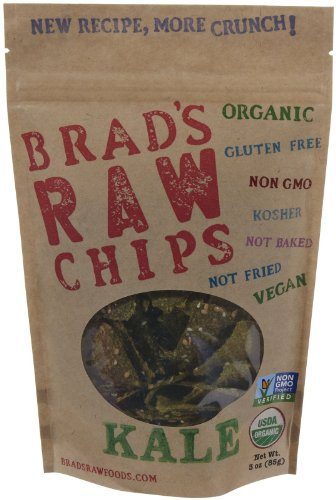 Brads Raw Chip Kale, 3 oz