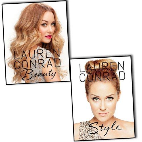 Lauren Conrad 2 Books Collection Pack Set RRP: £34.98 (Lauren Conrad Beauty(Hardcover), Lauren Conrad Style) (Conrad Lauren Collection)