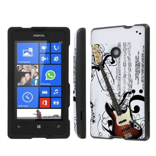 NakedShield Nokia Lumia 635 (Music Guitar) Total Hard Armor Protection LifeStyle Phone Case