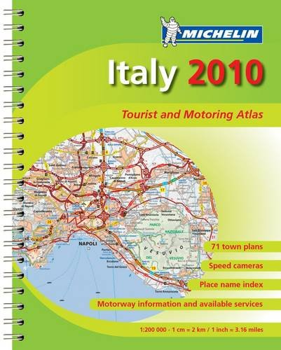 MOT Atlas Italy (Michelin Tourist and Motoring Atlases)