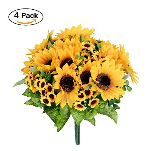 Silk Sunflowers - 4