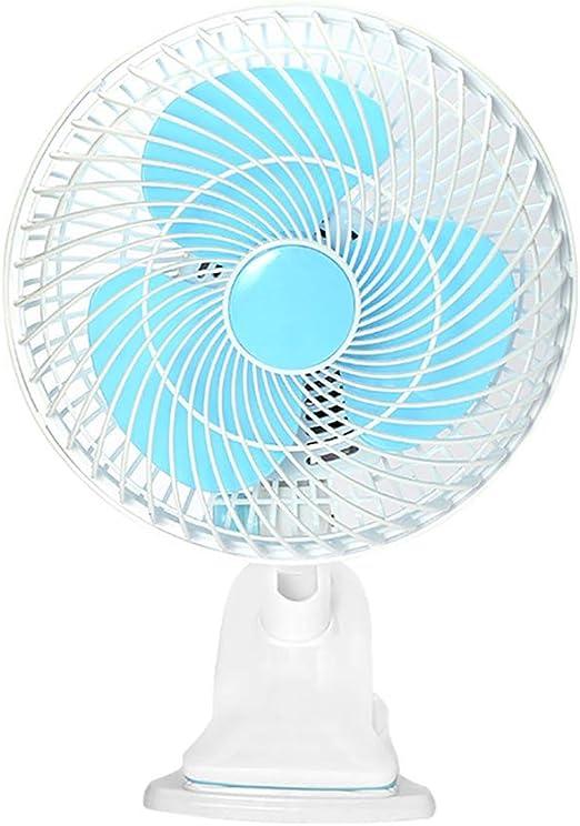 Color : Yellow Air Cooling Fan Small Fan USB Mini Electric Fan Shaking Head Portable Outdoor Fan Dormitory Personal Fans