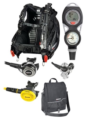 Mares Dragon MRS Abyss 22 Mission Puck 2 Package (X-Small)