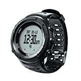 EZON Climbing Hiking Outdoor Sports Watch with Compass Altimeter Barometer Thermometer Waterproof Wristwatch for Men H001H11