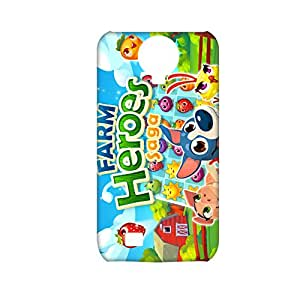 Printing Farm Heroes Saga For Samsung Galaxy S4 Personalised Back Phone Cover For Teens Choose Design 1-4