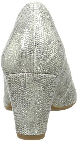 Gabor 30 Shoes Comfort Scarpe Donna Tacco con Argento Grigio rqr81wC