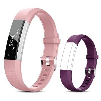 TOOBUR Reloj Inteligente para Mujer Niña Niños, Pulsera Actividad ...