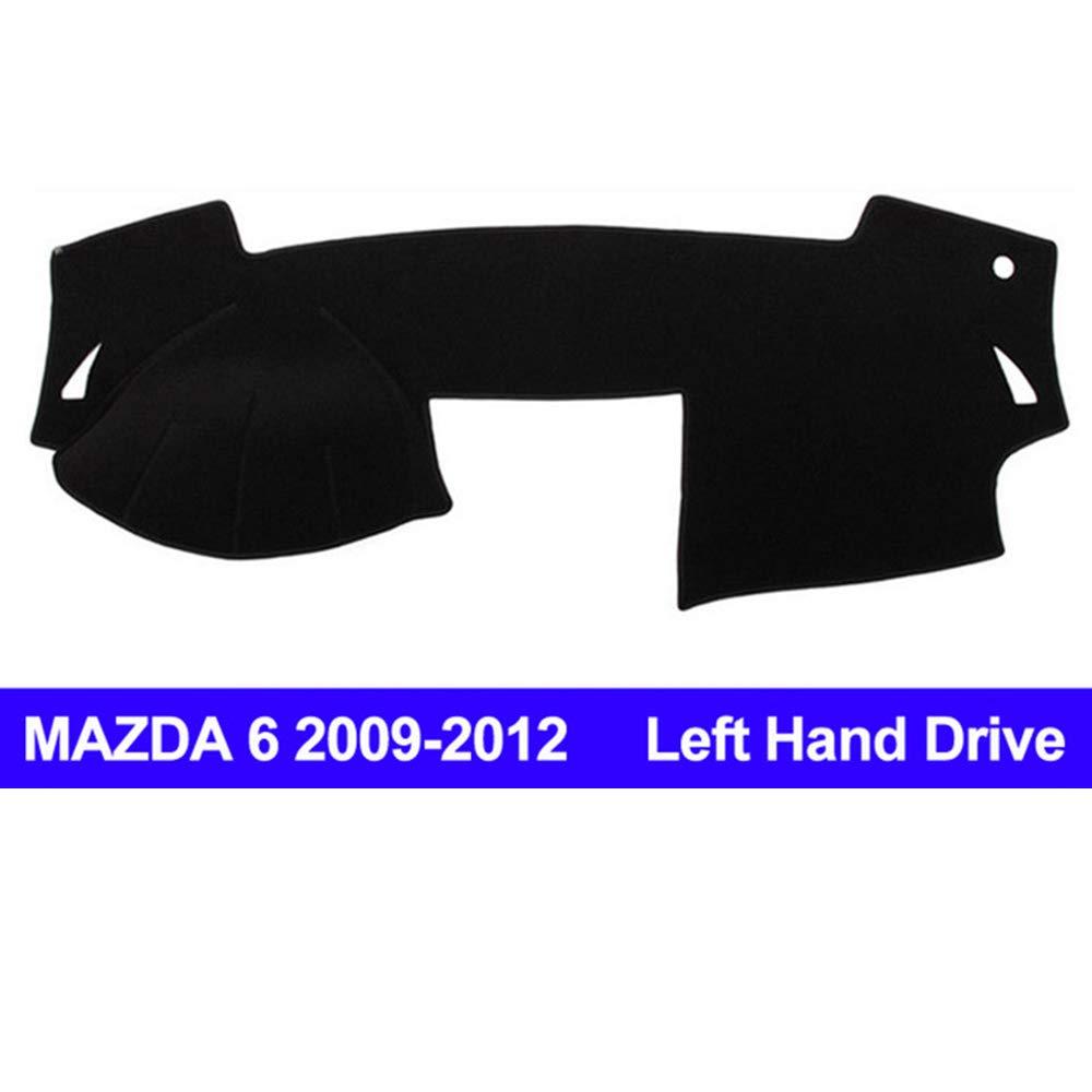 AUCD Car Dashboard Cover Dash Mat for Mazda 6 2009 2010 2011 2012 Non-Slip Sun Shade Automobile Dash Mat Pad Carpet Anti-UV