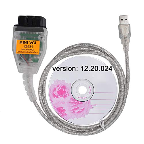LZLRUN Mini Vci Interface for Toyota J2354 Tis Techstream Diagnostic Cable Toyota Firmware V1.4.1