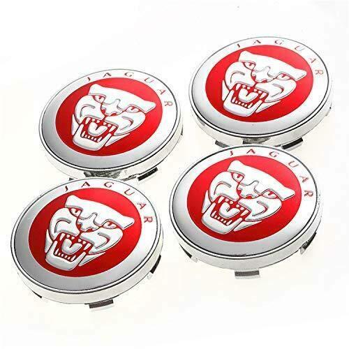 Kaixin 4 Pezzi 60mm coprimozzo mozzo Ruota Centrale Emblema Distintivo Emblema Tappo per Smart