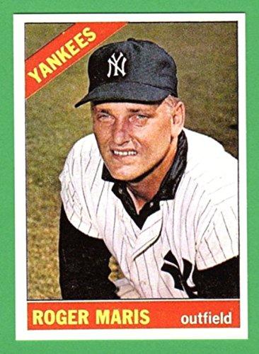 Roger Maris 1966 Topps Baseball Reprint Card Yankees