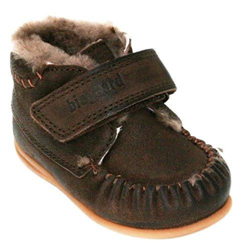 Bisgaard Unisex-Kinder Lauflerner Mokassin Boots Brown